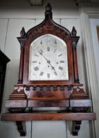 Mid 19th Century Musical Gothic Bracket Clock (9 of 9)