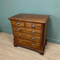 Country Georgian Mahogany Antique Chest of Drawers (3 of 7)