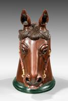 Early 20th Century Horse Head Mount (5 of 6)