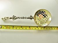 Fine Victorian Sifter Spoon Charles & George Fox London 1846 (9 of 9)