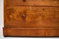 Large Antique Victorian Satinwood Chest of Drawers (5 of 16)