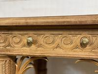 Wonderful French Walnut Console Table (25 of 36)