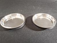 Pair of Asprey Silver Coasters (2 of 4)