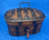 19th Century Arts And Crafts Scandinavian Birch Box (10 of 12)