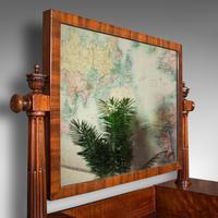 Antique Dressing Mirror, English, Mahogany, Boudoir, Pedestal Base, Victorian (8 of 12)