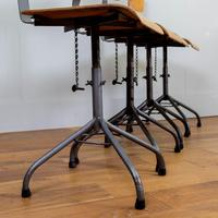 Vintage Industrial Bellow Stools - Lancashire Find (9 of 13)