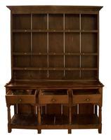 George III Oak Pot Board Dresser (2 of 7)