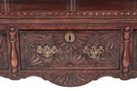 Fantastic 19th Century Antique Carved Oak Dresser (11 of 14)