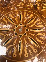 Antique Inlaid Syrian Coffee Table (5 of 12)