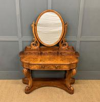 Victorian Period Burr Walnut Duchess Dressing Table (2 of 18)