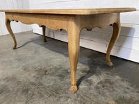 Bandy Leg French Bleached Oak Farmhouse Table (8 of 15)