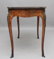 19th Century French Kingwood & Marquetry Centre Table (6 of 6)