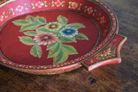 Large Scandinavian Painted Wooden Bowl (4 of 10)