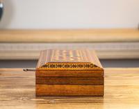 Rosewood Tunbridge Ware Table Box 1880 (4 of 9)