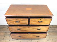 Edwardian Crossbanded Mahogany Chest of Drawers (3 of 9)