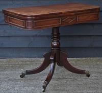 Elegant Regency Mahogany D-end Tea Table / Side Table / Hall Table  c.1820 (3 of 11)