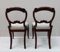 Pair of Regency Simulated Rosewood Chairs Attributed to Gillows (8 of 9)