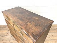 Georgian Antique Oak Chest of Drawers (8 of 10)