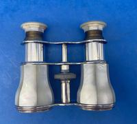 Victorian Silver Plated Mother of Pearl Opera Glasses (8 of 8)