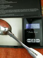 Sterling Silver Hallmarked Tea Spoon 1833 London ,william Bateman I (2 of 10)
