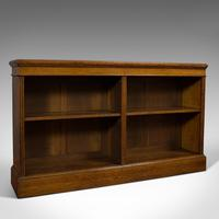 Large Antique Library Bookcase, Scottish, Oak, Bookshelf, Cabinet, Victorian (2 of 12)