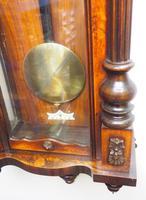 Wow! Antique German Double Weight Walnut 8-Day Vienna Regulator Wall Clock by Gustav Becker (10 of 11)