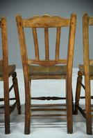 Set of 4 Rustic Kitchen Chairs (5 of 7)