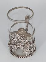 Silver & Glass Tea / Coffee Holder (2 of 4)