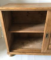 Pine Low Sliding Door Cupboard (4 of 7)