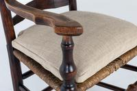 18th Century English Elm Ladder-Back Carver Chair (10 of 11)