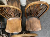 Harlequin Set of 8 18th Century Windsor Dining Chairs (10 of 15)