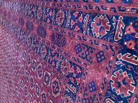 Antique Afghan Beshir Carpet (5 of 11)