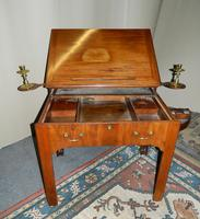 Chippendale period mahogany architect's table (5 of 9)