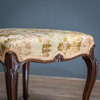 Mahogany Victorian Footstool (2 of 9)