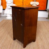 Walnut Bedside Cabinet Victorian (6 of 6)