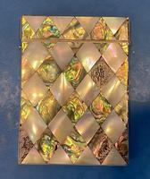 Victorian Abalone & Mother of Pearl Card Case (3 of 15)