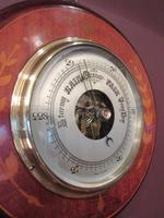 High Quality Antique Sheraton Inlaid Barometer (2 of 6)