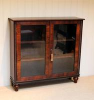 Victorian Rosewood Glazed Bookcase (3 of 10)