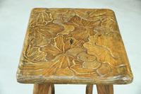 Liberty Carved Japanese Side Table (7 of 12)