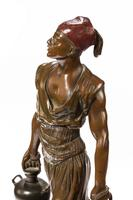 Late 19th Century Bronze Model of a Berber by Emile Pinedo Paris (3 of 6)