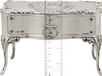 Sterling Silver Jewellery Box - Antique Edwardian (1902) (2 of 15)