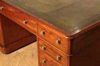 19th Century Mahogany Partners Desk (3 of 4)