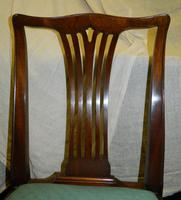 Set of 10 Mahogany Dining Chairs (3 of 8)