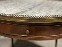 French Marble Top Coffee or Lamp Table (5 of 17)