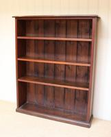 Oak Open Bookcase c.1910 (6 of 10)