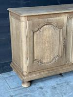 Large French Bleached Oak Enfilade or Sideboard (6 of 19)