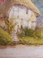 Watercolour Mill Cottage Reigate Listed Artist H Rawson (10 of 13)