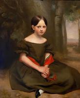 Large & Striking Oil on Canvas in Original Frame by John G. Medland (3 of 3)