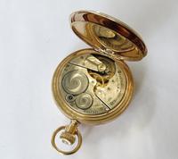1921 Elgin Full Hunter Pocket Watch (5 of 5)