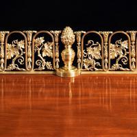 Regency pale mahogany pedestal sideboard (3 of 8)
